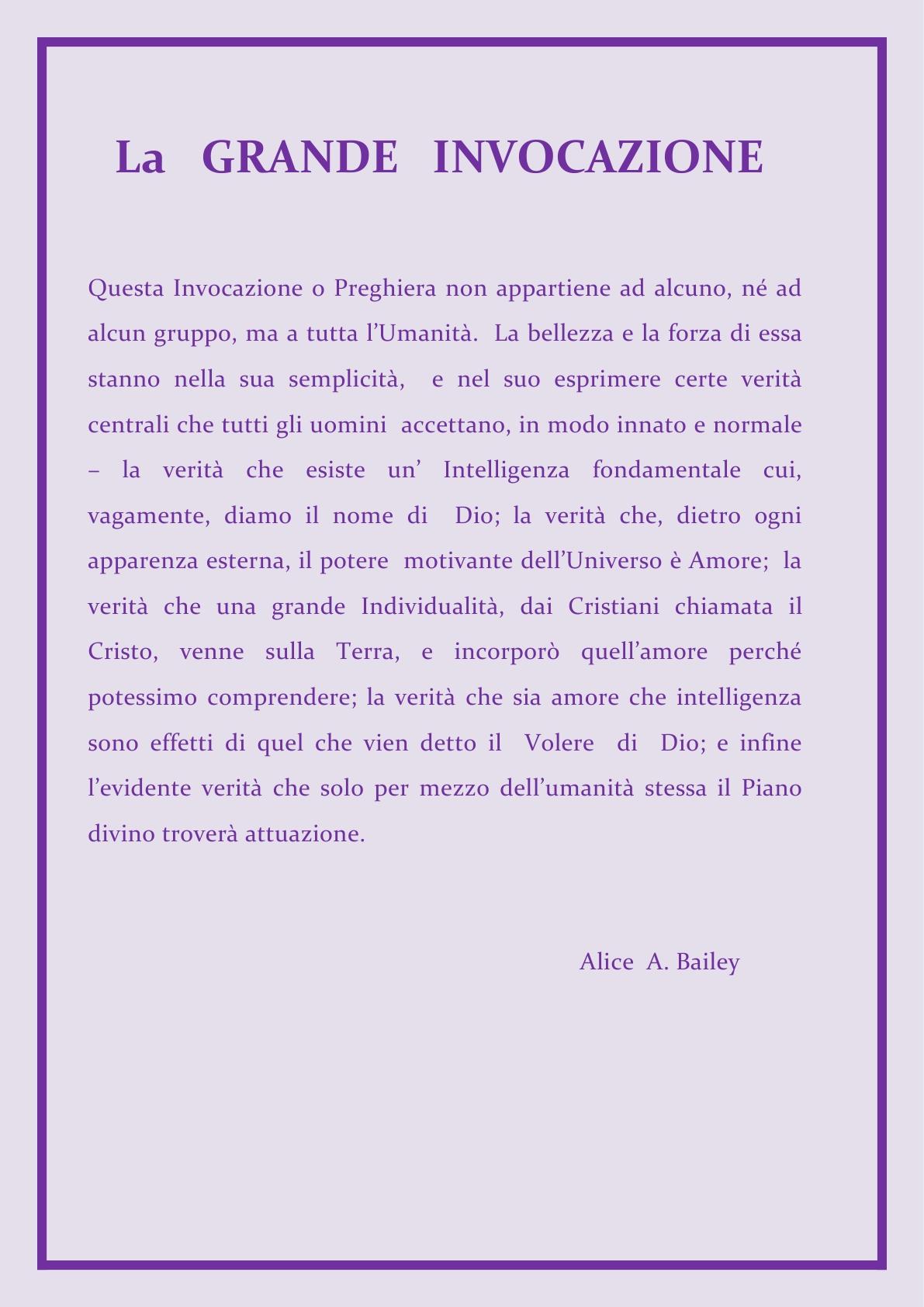 ALI  La Grande Invocazione descrizione A.B.22mar2015